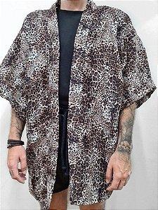 Kimono Oncinha Curto