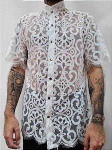 Camisa Gótica Branca