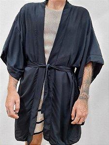 Kimono Preto Faixa