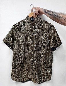 Camisa Losango Dourada