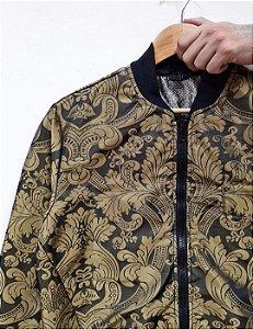 Jaqueta Arabesco Dourada