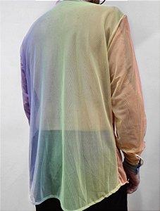 Camisa Tule Arco Iris