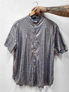 Camisa Paetê Chumbo