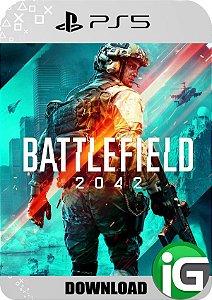 Battlefield 2042 Edição Standard PS5 - Mídia Digital