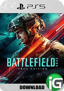 Battlefield 2042 PS5 Edição Gold - Mídia Digital