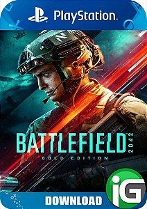 Battlefield 2042 PS4 Edição Gold - Mídia Digital