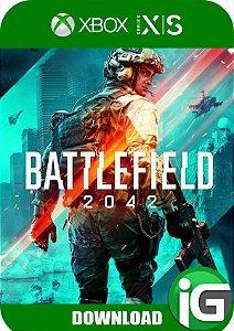 Battlefield 2042 Xbox Series X/S Edição Standard - Mídia Digital
