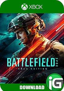 Battlefield 2042 Xbox One Edição Gold - Mídia Digital