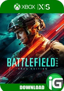 Battlefield 2042 Xbox Series X/S Edição Gold - Mídia Digital