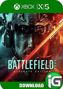 Battlefield 2042 Xbox Series X/S Edição Ultimate - Mídia Digital