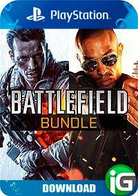 Conjuto de Battlefield 4 e Battlefield Hardline - PS4