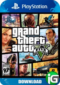 Grand Theft Auto V GTA - PS4