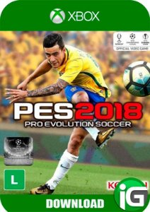 Pro Evolution Soccer 18 (PES) - Xbox One
