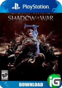 Shadow Of War - Terra Média  Sombras da Guerra - PS4