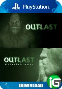 Outlast + Whistleblower - PS4