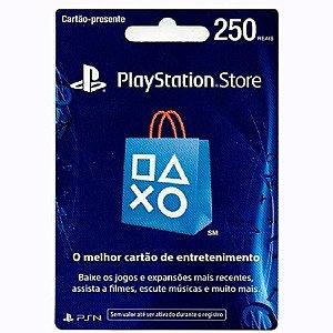 PSN CARD R$ 250