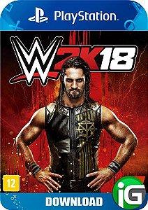 WWE 2K18 - PS4