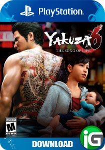 Yakuza 6 - The Song Of Life - PS4