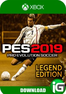 PES 2019 Legend Edition - Xbox One