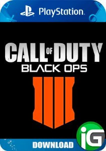 Pré Venda - Call Of Duty Black Ops 4 - PS4