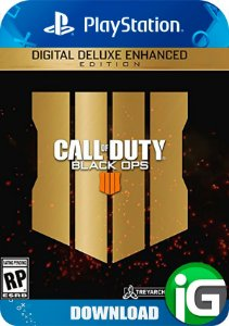 Call Of Duty Black Ops 4 Digital Deluxe Edition - PS4