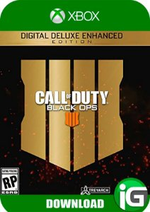 Call Of Duty Black Ops 4 Digital Deluxe Edition - Xbox One