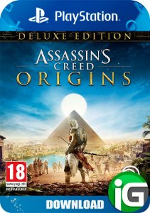 Assassin's Creed Origins Deluxe Edition - PS4
