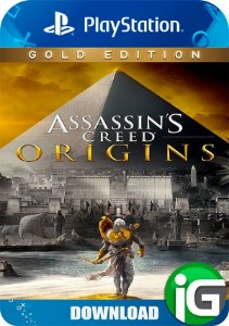 Assassin's Creed Origins Gold Edition - PS4