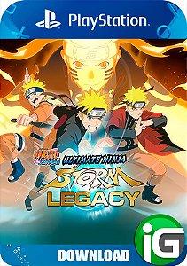 Naruto Shipudden Ultimate Ninja Storm Legacy - PS4