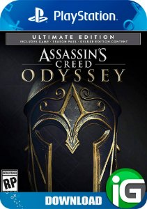 Assassin's Creed Odyssey Ultimate Edition - Ps4