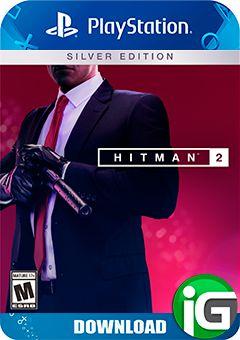 Hitman 2 Edição Prata - PS4