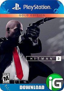 Hitman 2 Edição Ouro - PS4
