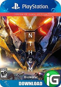 Anthem - Edição Legião da Alvorada - PS4