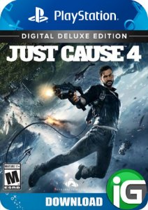 Just Cause 4 - Edição Deluxe - PS4