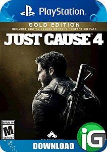 Just Cause 4 - Edição Gold - PS4
