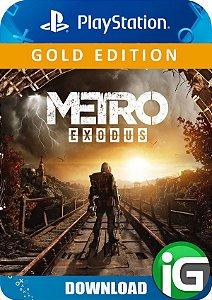 Metro Exodus - Edição Gold - PS4