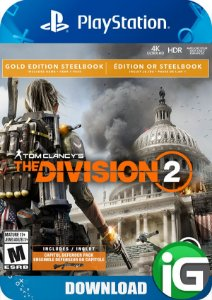 Tom Clancy's The Division 2 - Edição Gold - PS4
