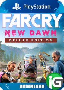 Far Cry New Dawn - Edição Deluxe - PS4