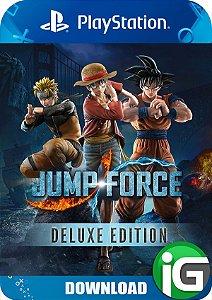Jump Force - Edição Deluxe - PS4