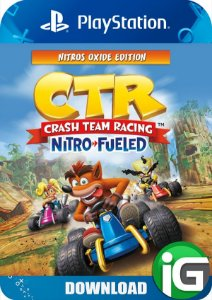 Crash Team Racing Nitro-Fueled - Edição Nitros Oxide - PS4