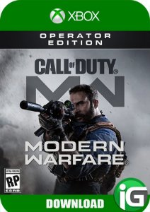 Call of Duty Modern Warfare - Operator Edition - Xbox One
