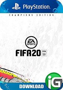 Fifa 20 - Edição Campeões - PS4
