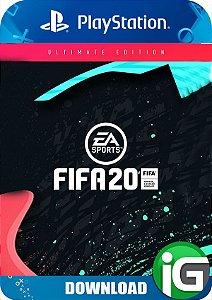 Fifa 20 - Edição Ultimate - PS4