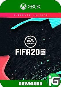 Fifa 20 - Edição Ultimate - Xbox One