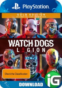 Watch Dogs Legion - Edição Gold - PS4