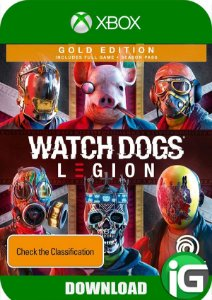 Watch Dogs Legion - Edição Gold - Xbox One