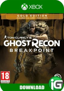 Tom Clancy's Ghost Recon Breakpoint - Edição Gold - Xbox One