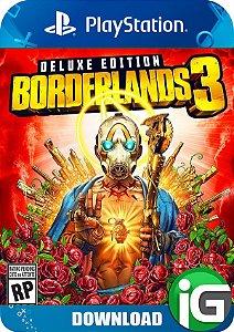 Borderlands 3 - Edição Deluxe - PS4