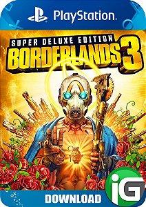 Borderlands 3 - Edição Supereluxe - PS4