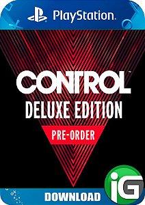 Control Edição Digital de Luxo de Pré-Venda - PS4